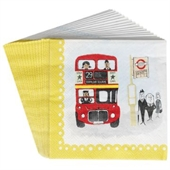 20 Serviettes en Papier I Love London
